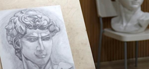 藝術學校應試素描加強班之(一)石膏像寫生班