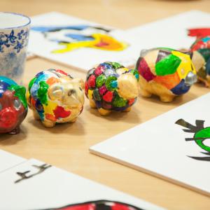 小兒科彩瓷彩繪班  下午班