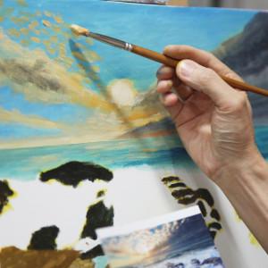 油畫工作坊 H班 下午班