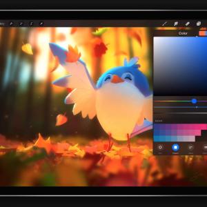iPad Pro Procreate 作畫技術兒童班 B班-下午班