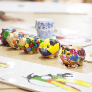 小兒科彩瓷彩繪班  上午班