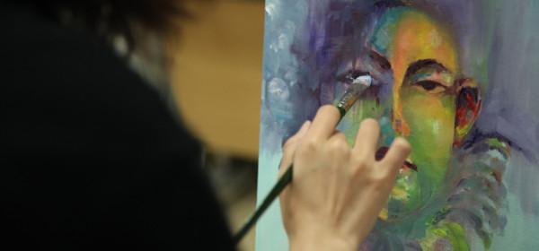 油畫工作坊 E班 下午班