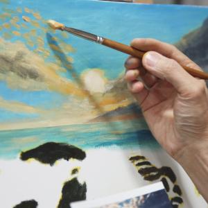 油畫工作坊 F班  下午班