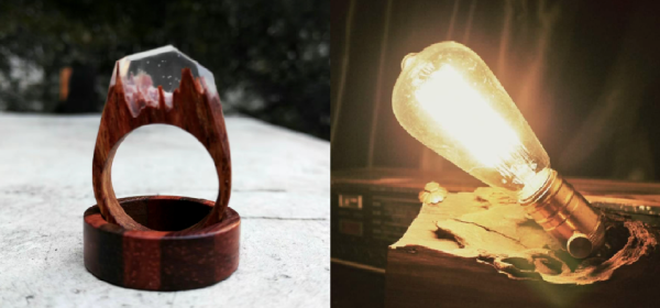 創意木工DIY 樹脂木藝班(原木家居)  晚上班