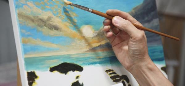 油畫工作坊 C班 下午班