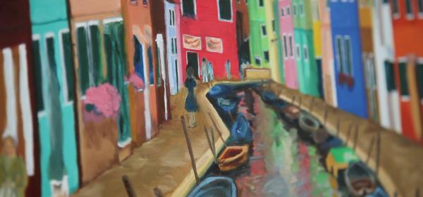 油畫工作坊 B班 下午班