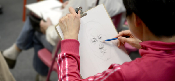 素描繪畫3級