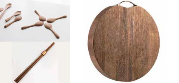 創意木工DIY原木廚房用具親子班(原木砧板及餐具)晚上班