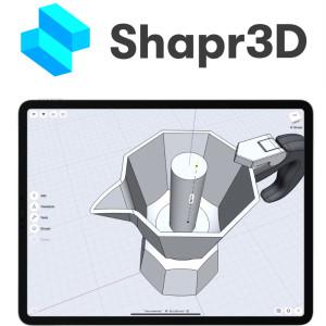 利用iPad shapr3D 進行立體建模及打印課程 下午班