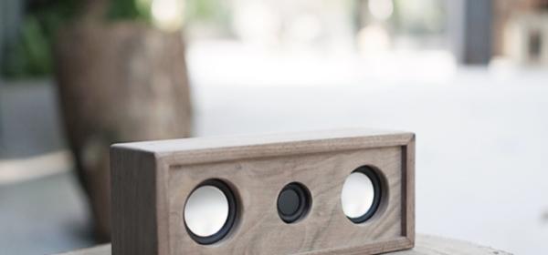 復古木製手提藍芽音箱