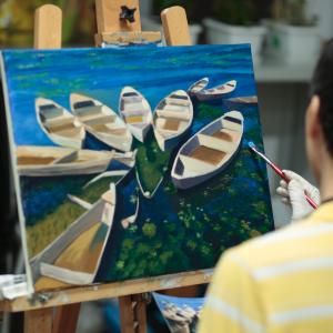 油畫工作坊B班-下午班